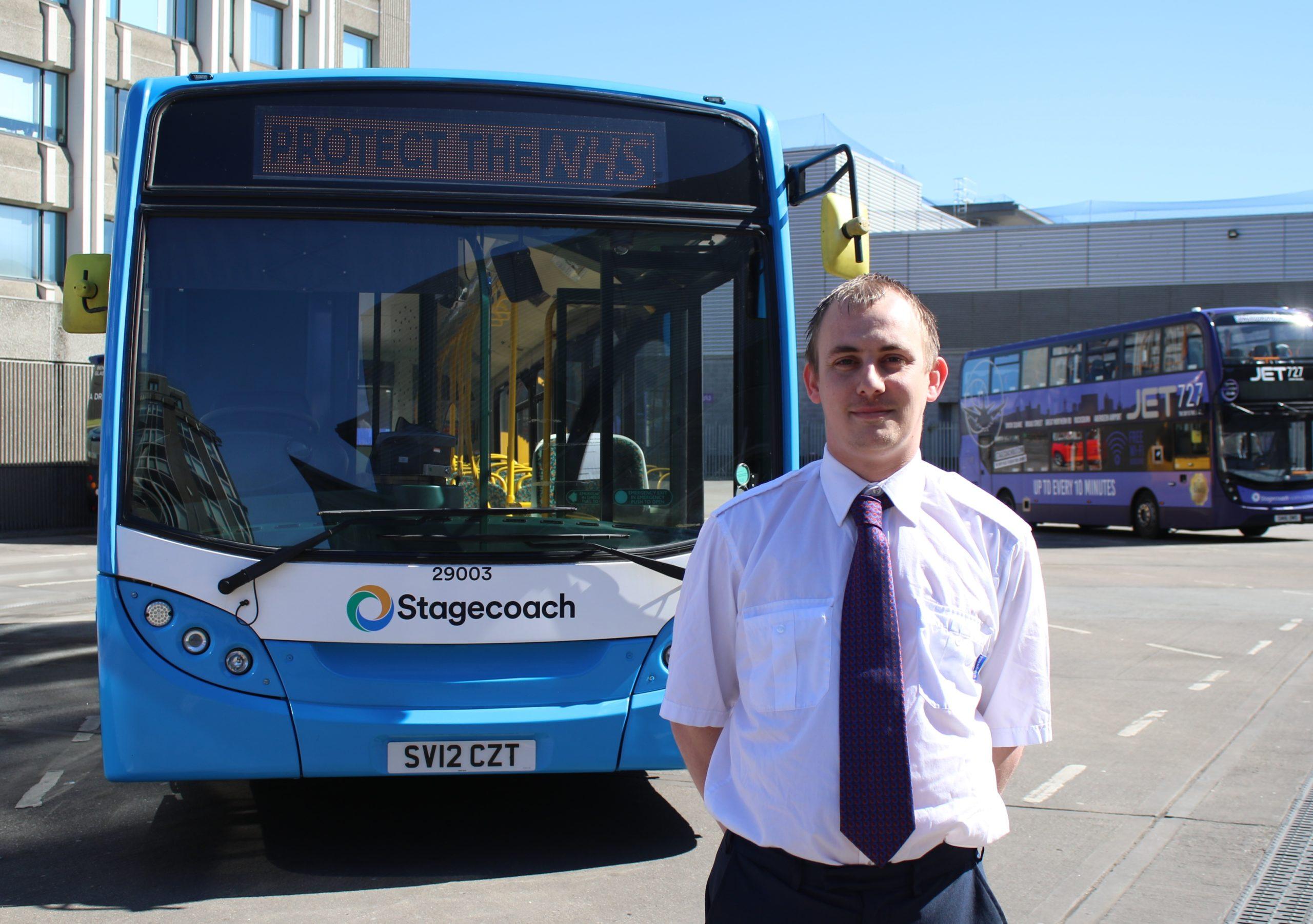 Stagecoach employee Daryl Mitchell