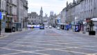 Union Street could be dramatically altered as part of plans to get Aberdeen moving again after lockdown.