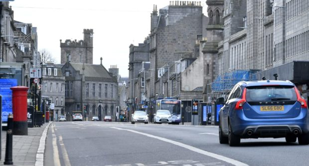 The council is working towards making Union Street car free