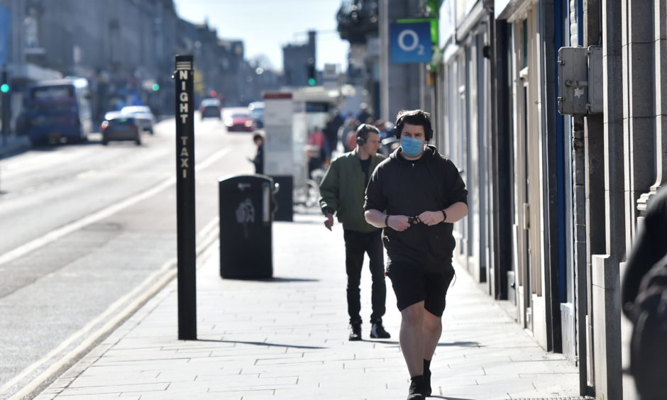 The Scottish Government has issued guidance around wearing face masks