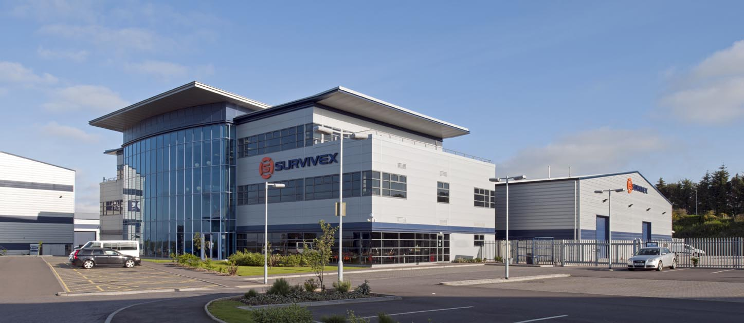 Survivex HQ in Dyce