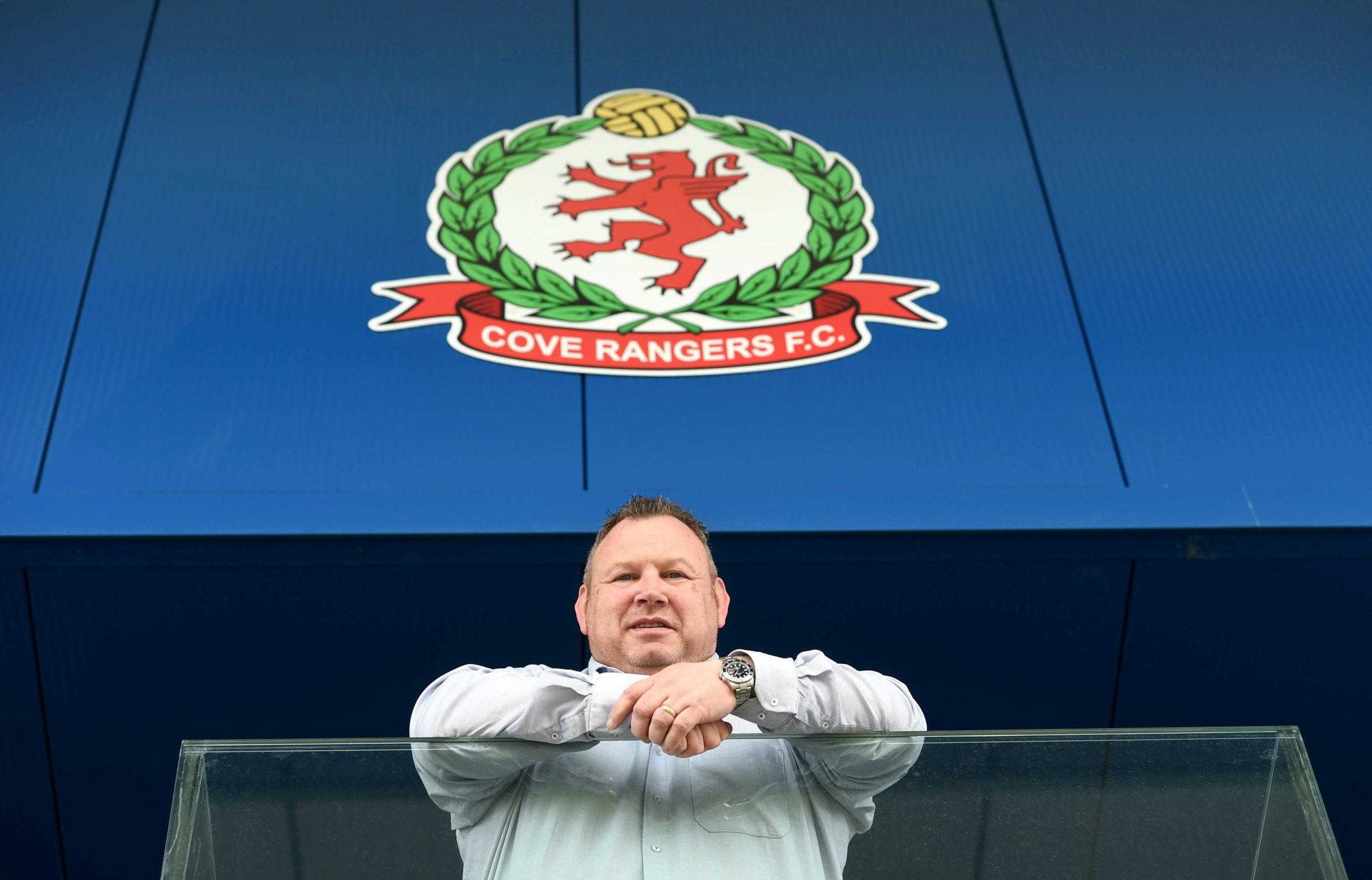 Keith Moorhouse, Cove Rangers chairman.