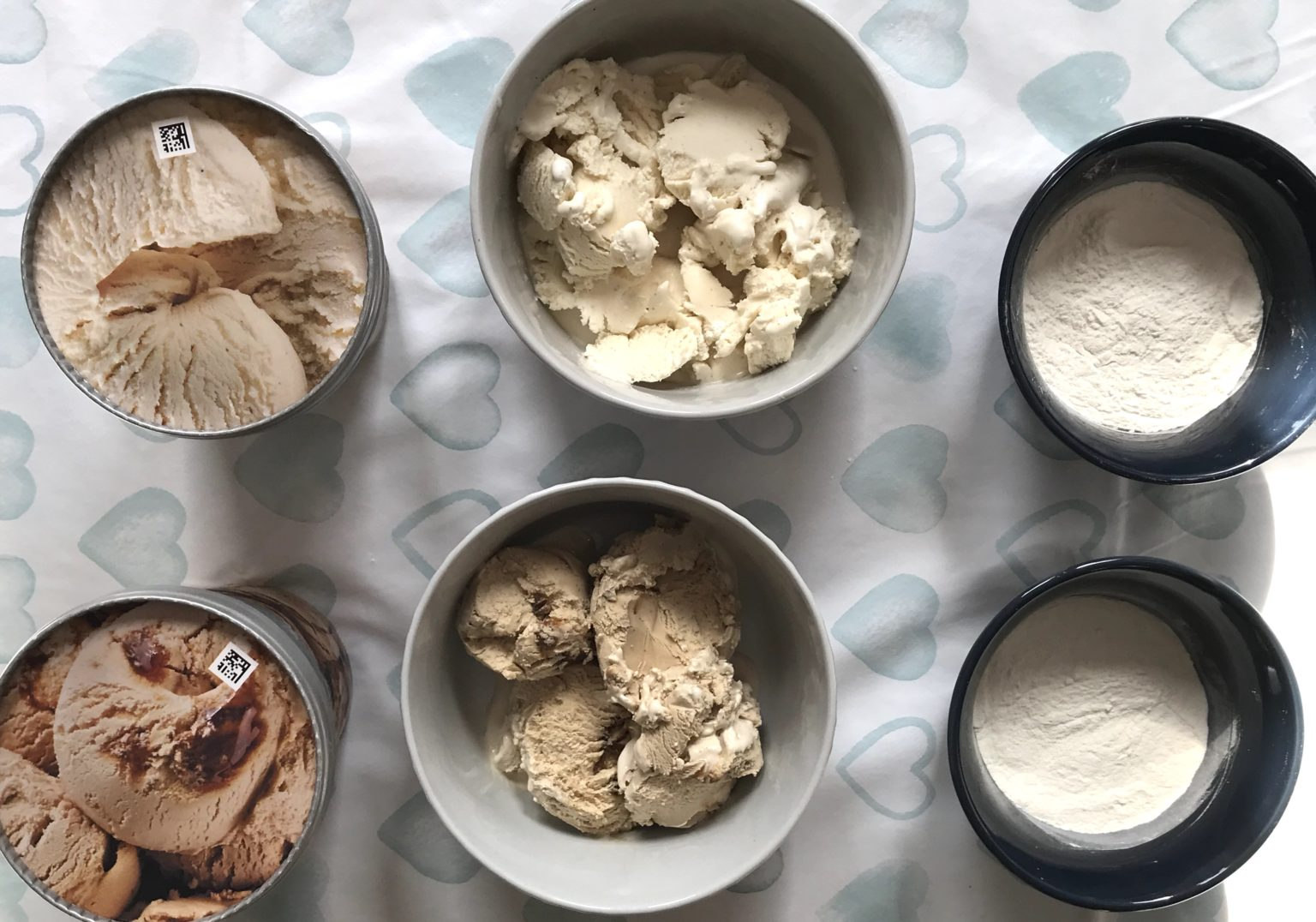 Ice cream and flour is all you need to make a cake that 'tastes like Disneyland'.