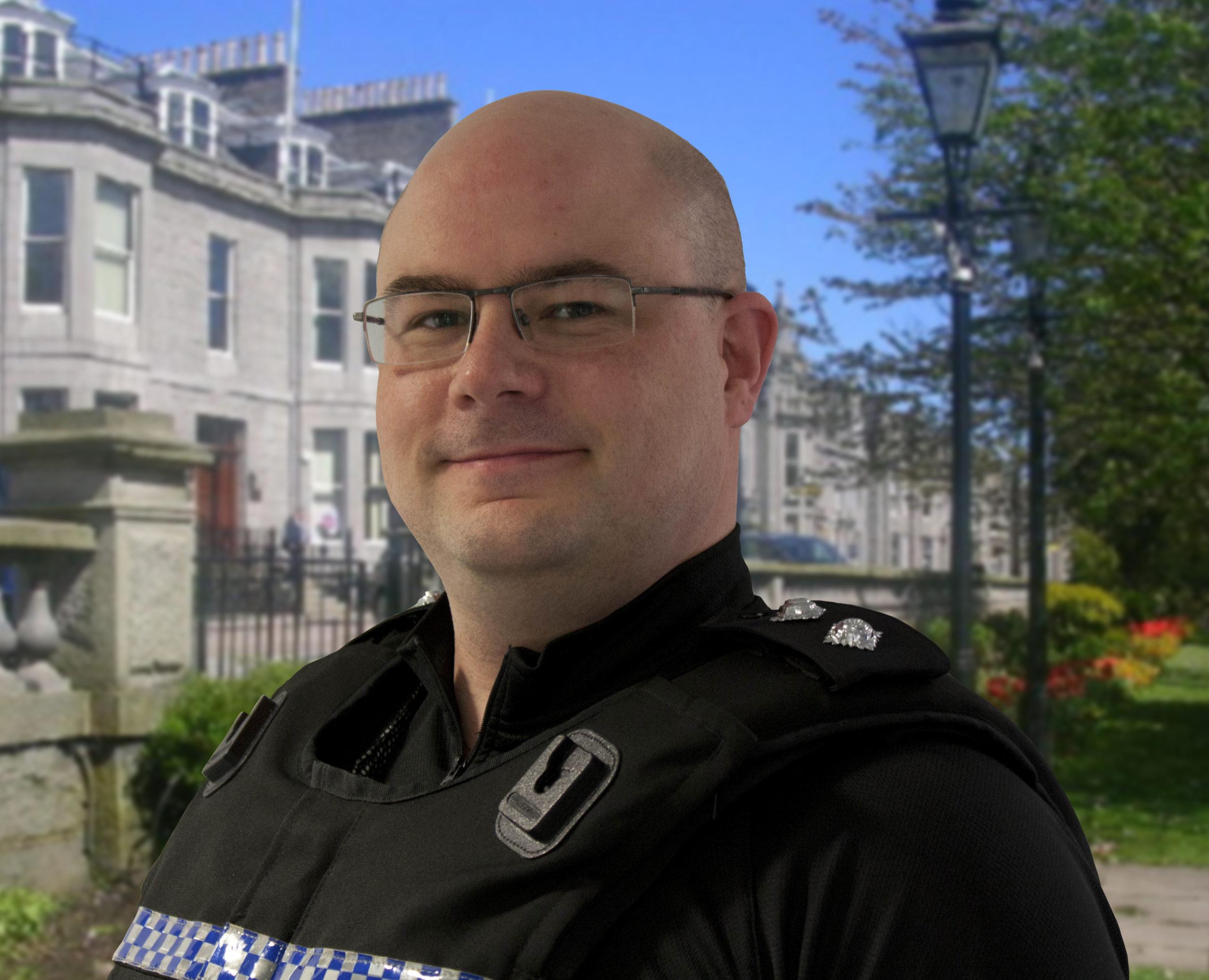Inspector Ian McKinnon
