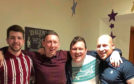 Craig Reid, Keith Richards, Lee Richards and James Mackie