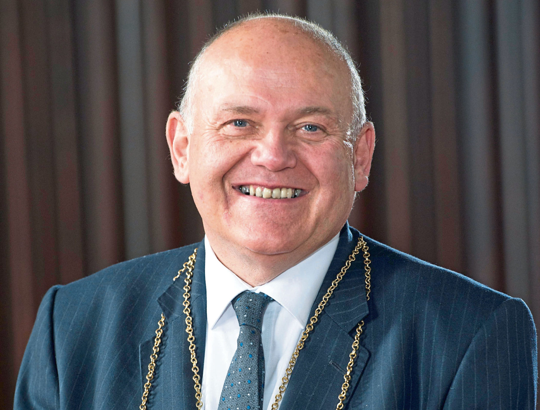 Lord Provost Barney Crockett has signed up to take part in trials for a Covid-19 vaccine
