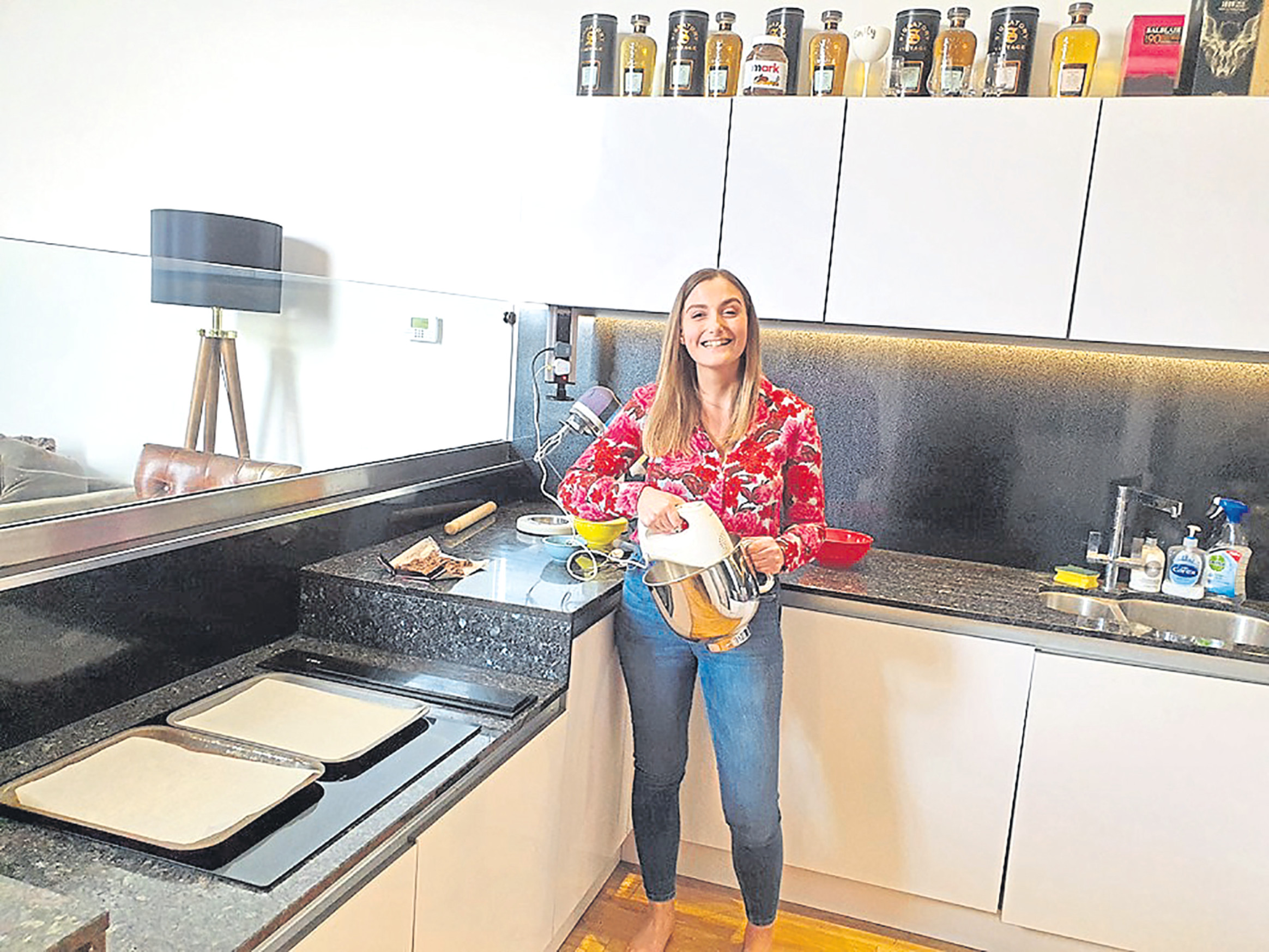 Emily Findlay has launched an e-book featuring all 26 bakes she produced during her 2.6 Challenge in May