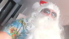 Santa dressed for summer to help Ellon