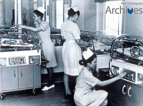 Incubators at Aberdeen Maternity Hospital
