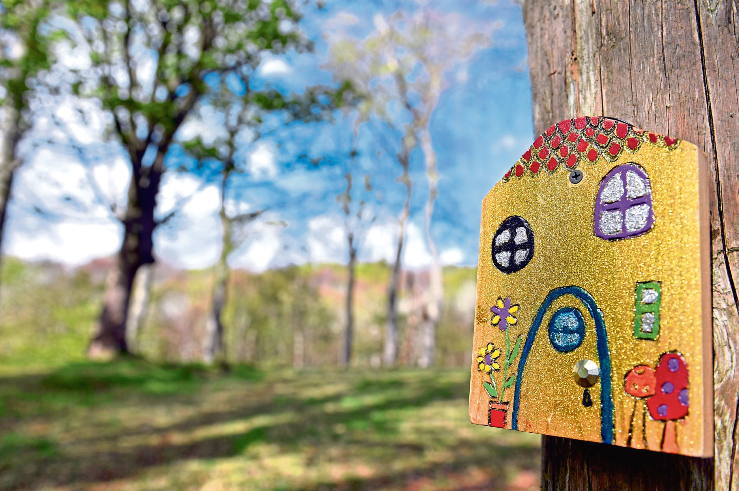One of the fairy doors in Bridge of Don. Picture by Kami Thomson