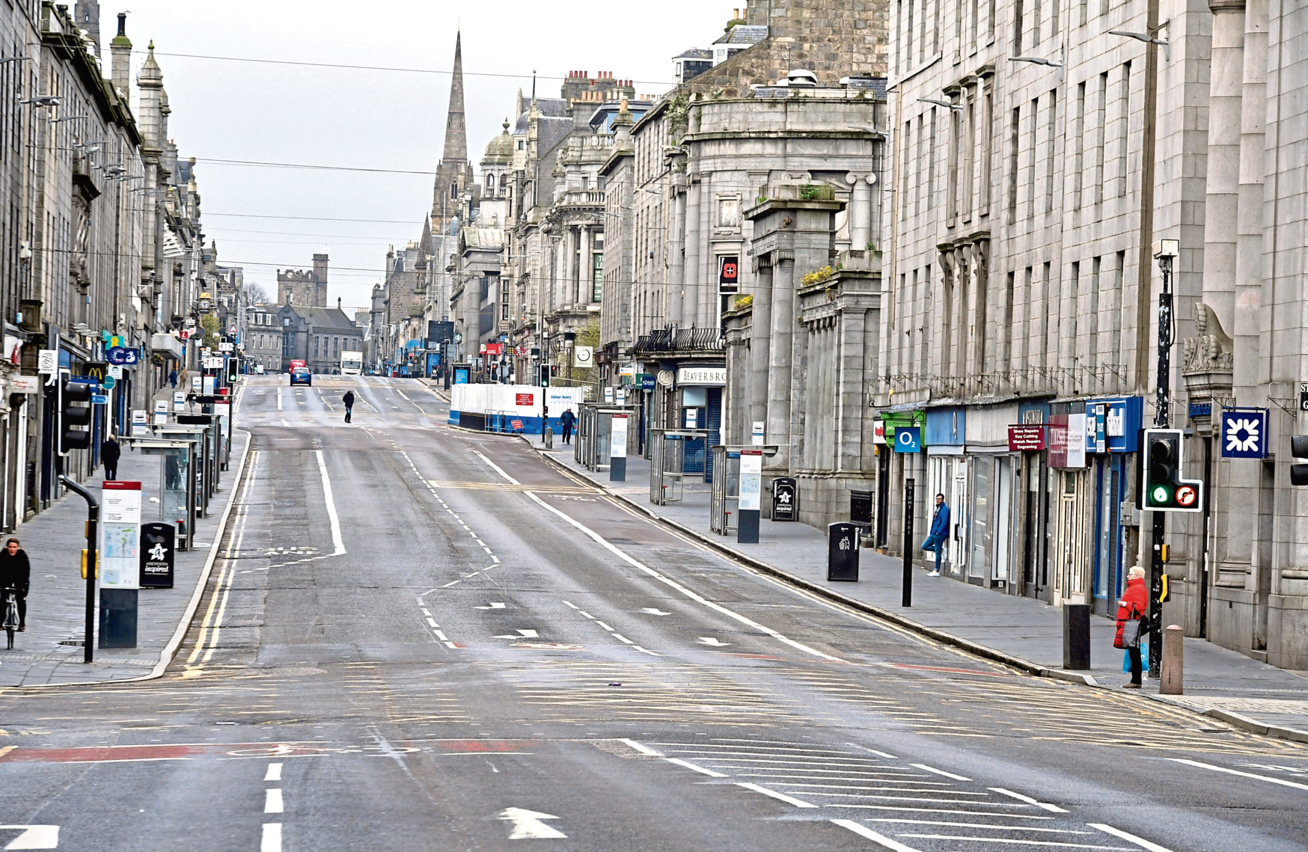 Union Street in Aberdeen