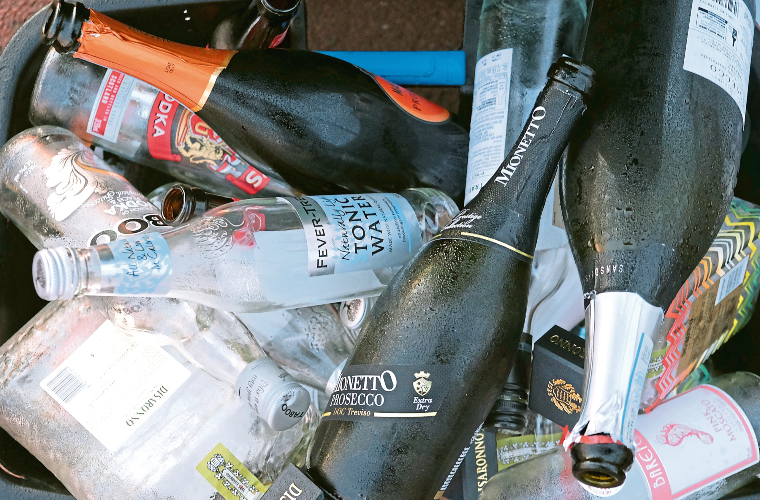 Scott Begbie has been recycling every last bottle and can on a regular basis