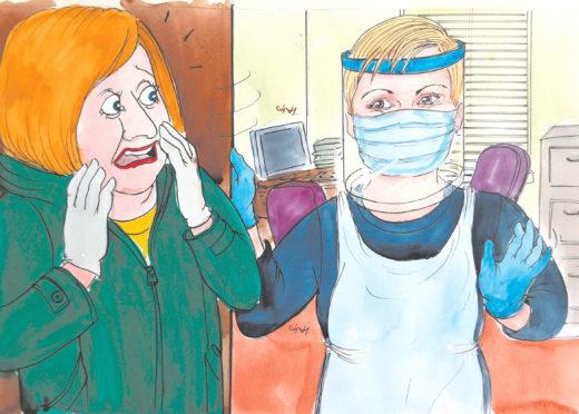 Moreen Simpson: No dye – but doctor wis enough to turn me grey