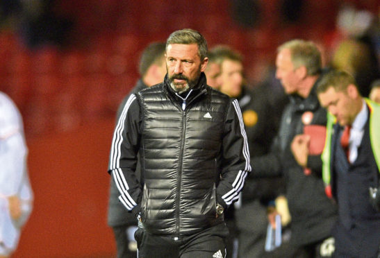 Derek McInnes could be facing a cut to his budget.