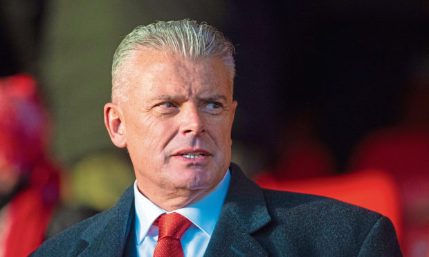 Aberdeen chairman Dave Cormack is hunting for a new manager.