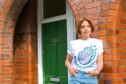 Annemarie Plas, 36, the creator of #ClapForOurCarers, at her home