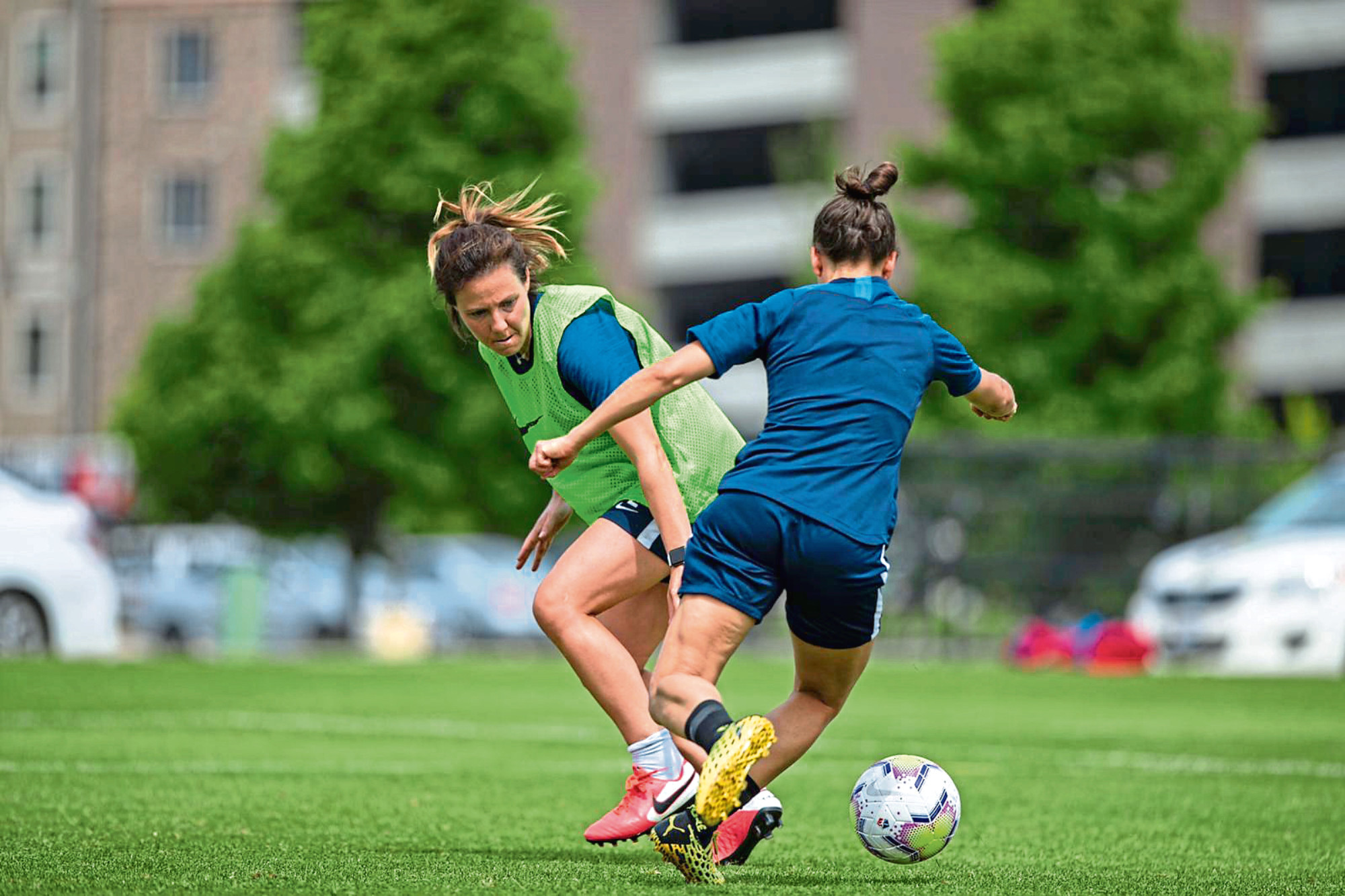 Utah Royals have been back in training in anticipation of football's return.