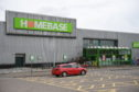 The former Homebase store in Portlethen is proposed to be turned into two shops