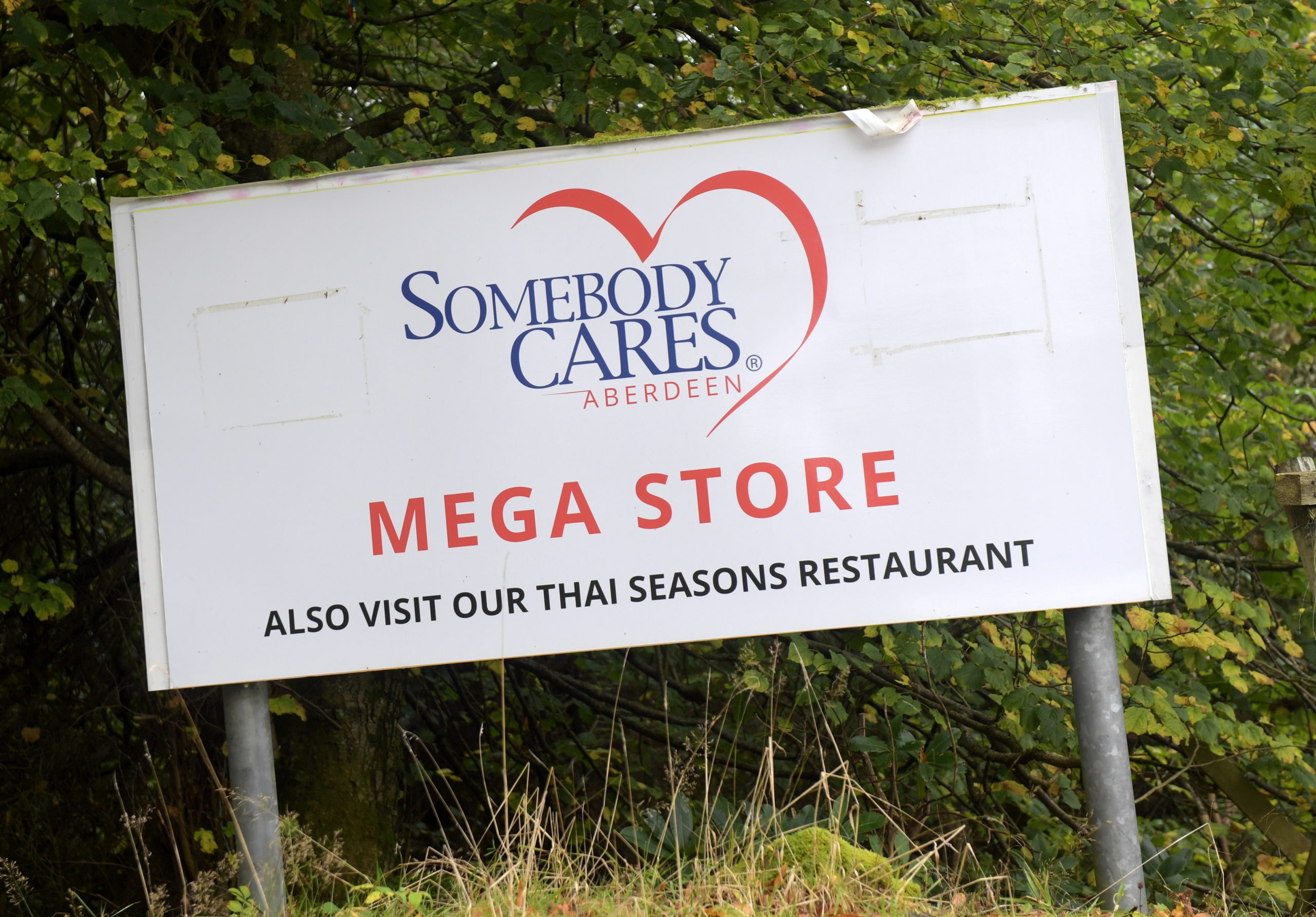 Somebody Cares is only accepting donations by appointment