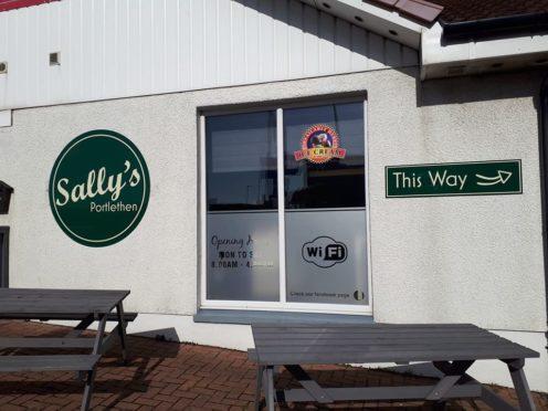 Sally's Cafe in Portlethen