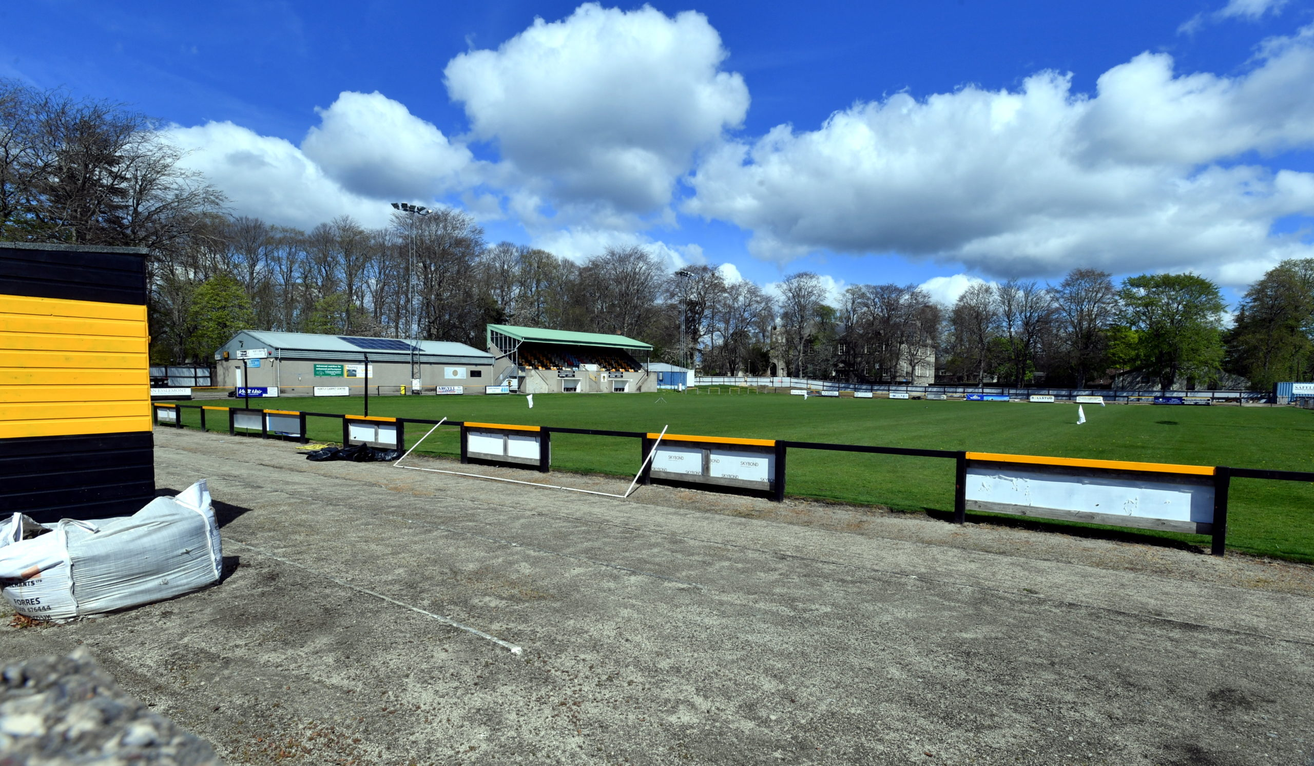 Christie Park in Huntly is one of the areas that could be improved