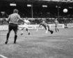 Dons centre half Willie Garner in 1977.