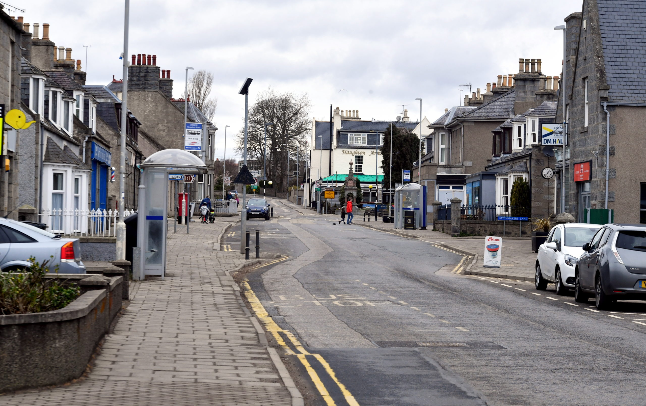 The main street in Alford