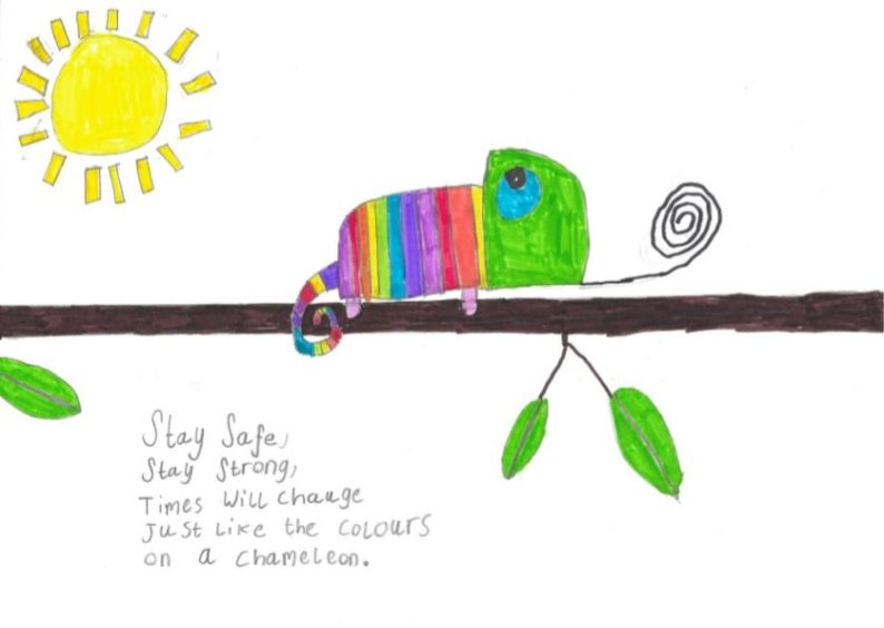 Amy, Age 8 from Pitmedden Primary