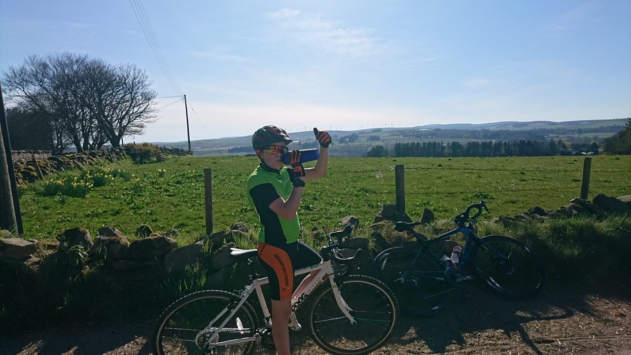 Arran Keenon has raised more than £700 for charity