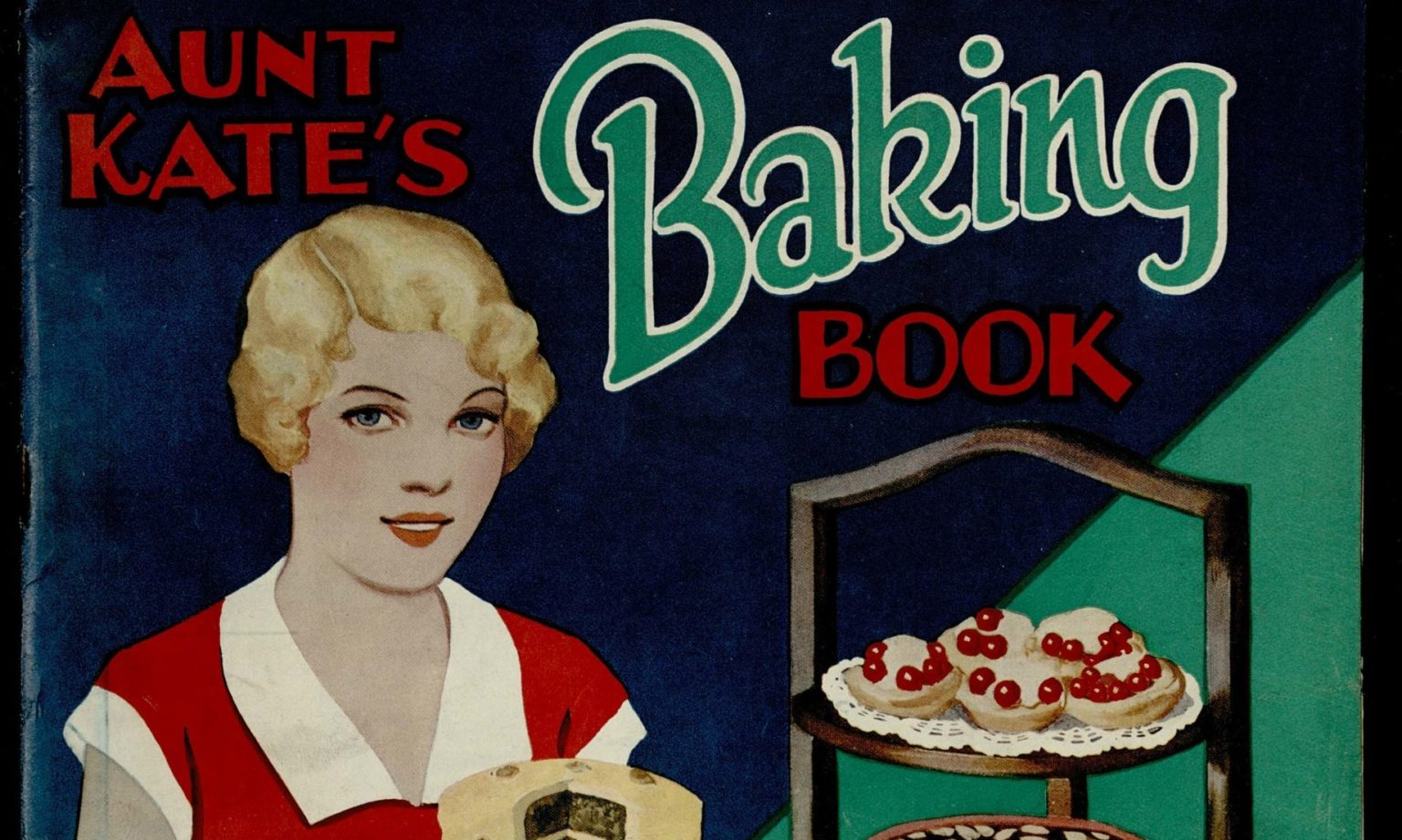 Aunt Kate's Baking Book from 1933