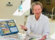 Denis Law has been doing jigsaws to pass the time during lockdown.