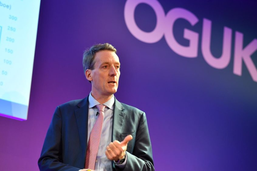 Failure to meet the revised strategy could lead to penalties for operators. Pic: Andy Samuel, chief executive of the Oil and Gas Authority
