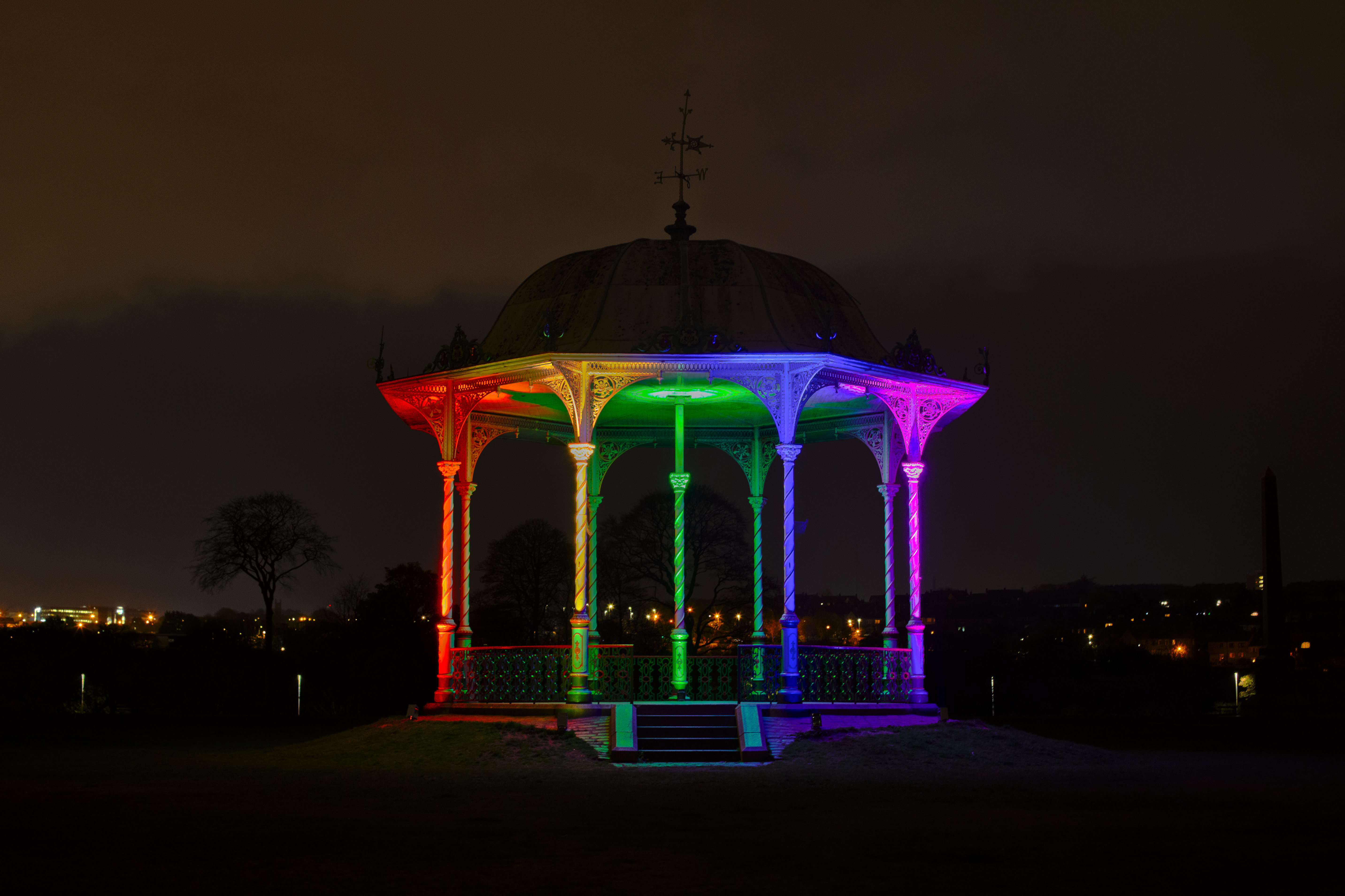 The bandstand at Duthie Park