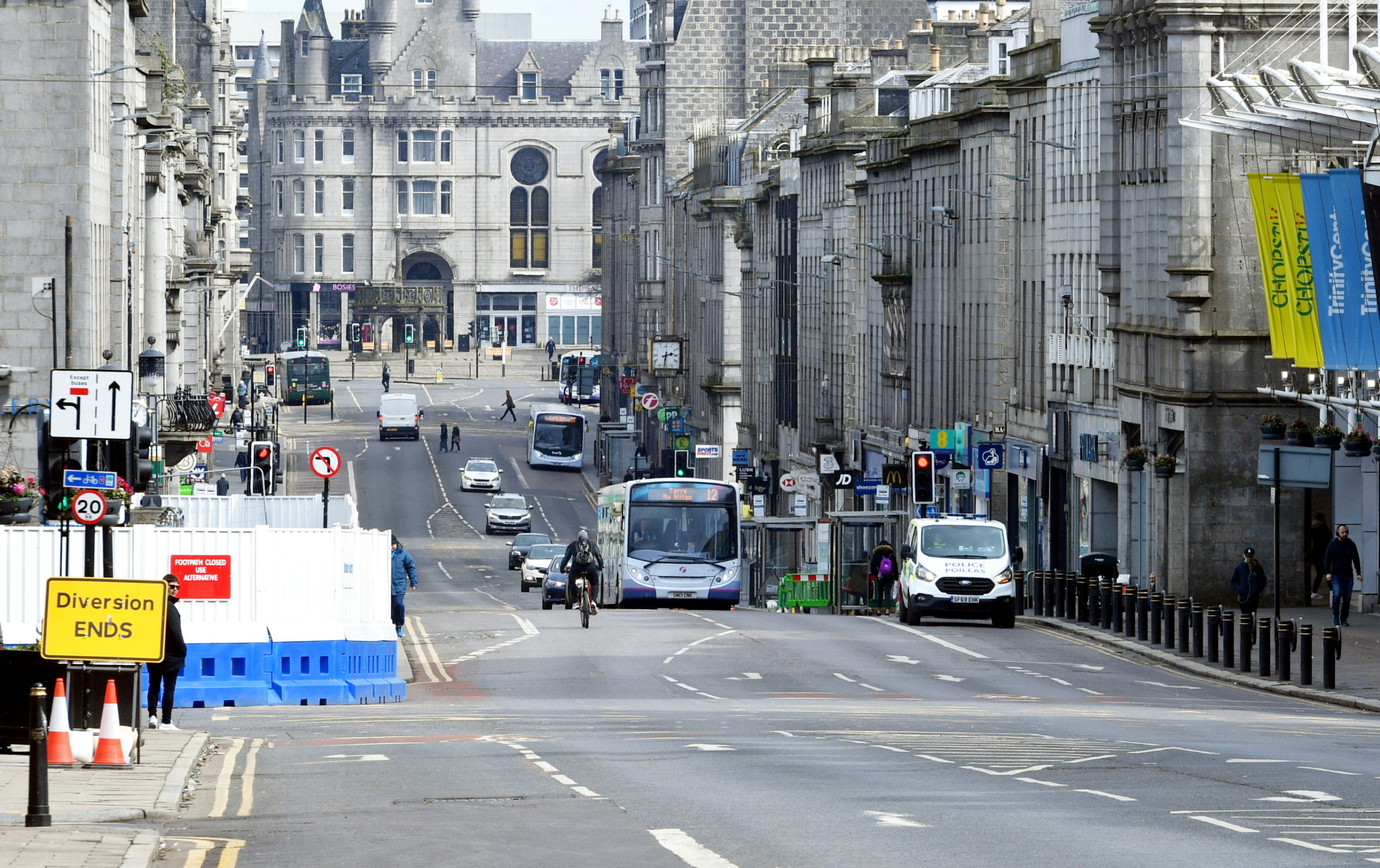 Bus firms have raised concerns over plans to transform Union Street.