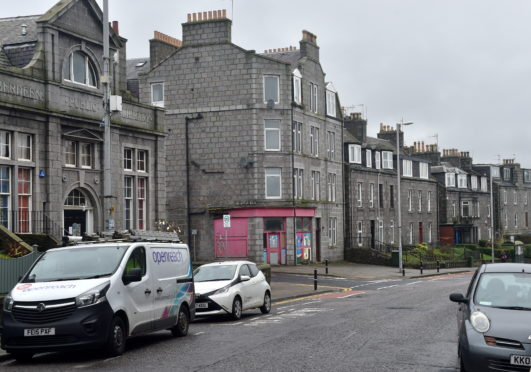 Victoria Road in Torry