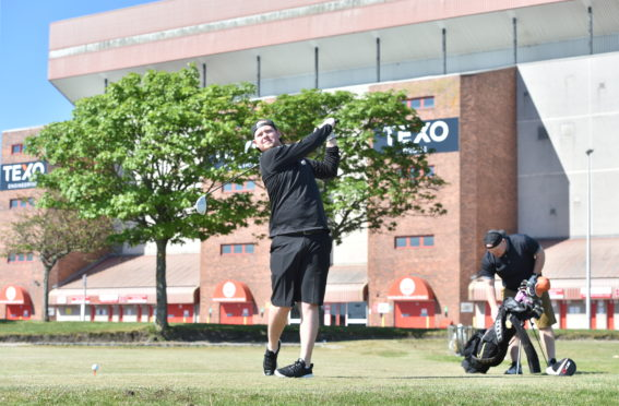 Courses have been fully booked since the return of golfers to the fairways.