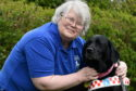 Janette Hayworth is partially sighted and relies on her guide dog, Iona