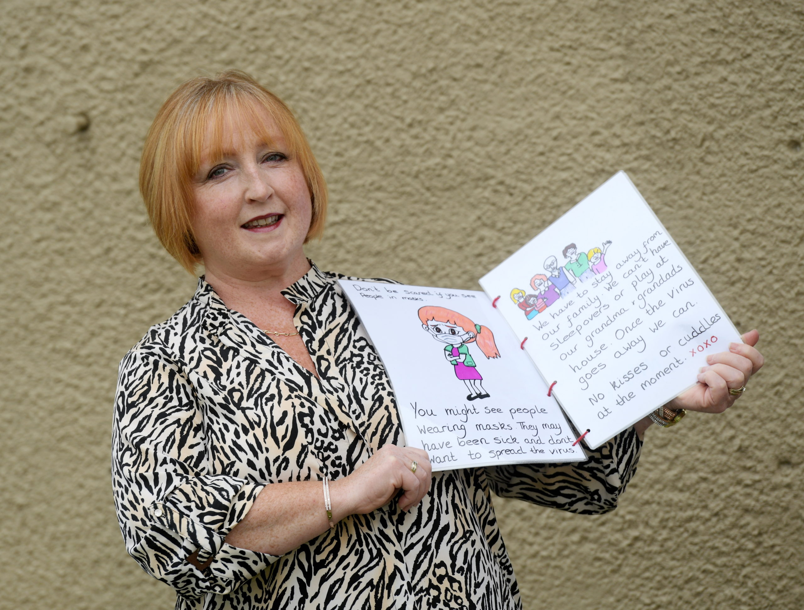 Lesley Morrison has created a book for children to understand the effects of Covid-19