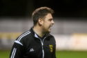 Huntly FC's manager Martin Skinner. Pic by Chris Sumner Taken 10/10/18
