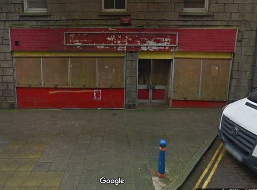The shop on Fraserburgh High Street could be revamped