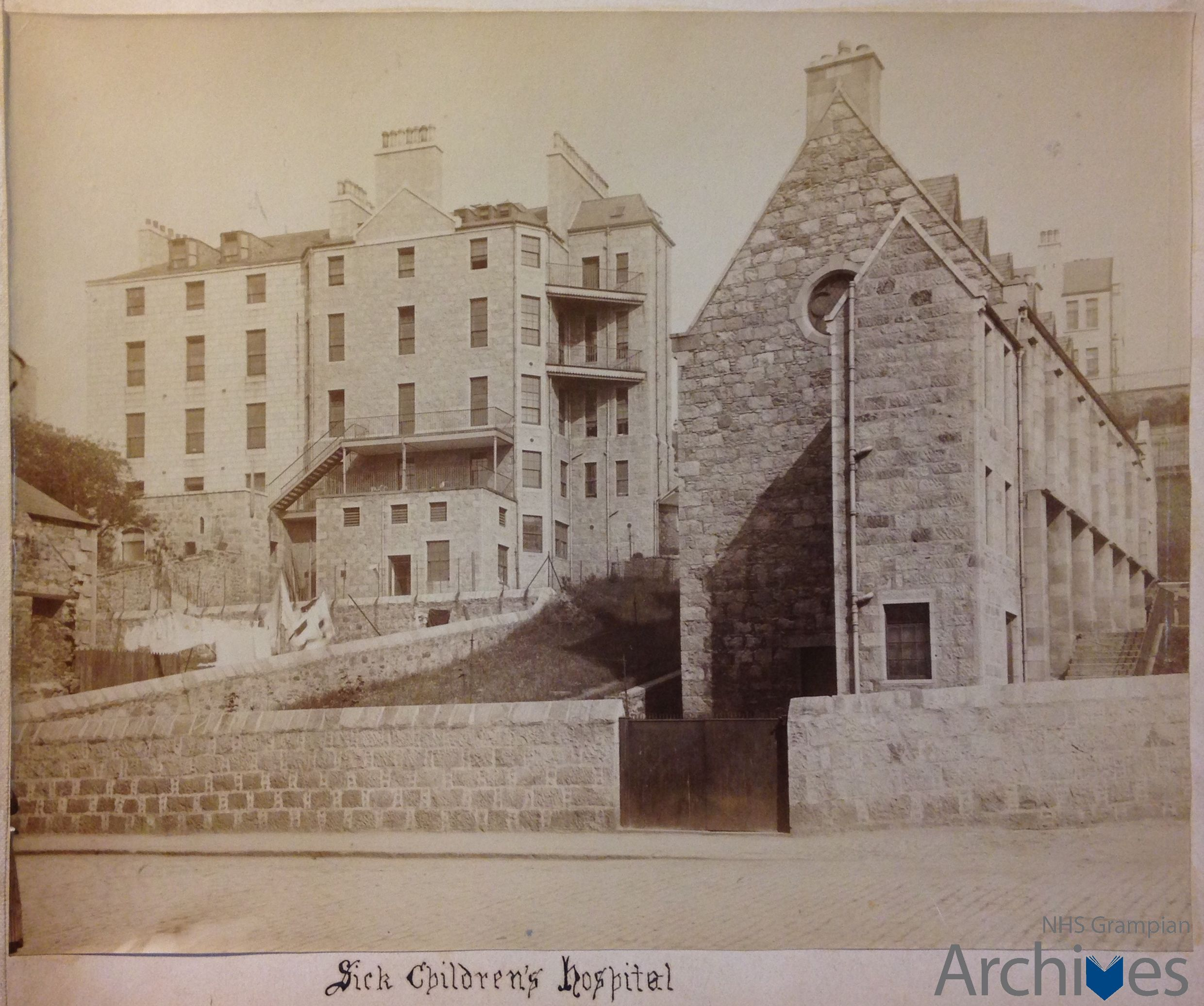 A new video showcasing the history of Royal Aberdeen Children's Hospital has been created