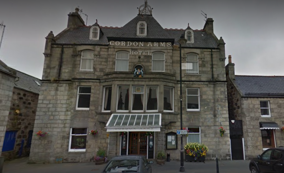 The Gordon Arms Hotel in Huntly