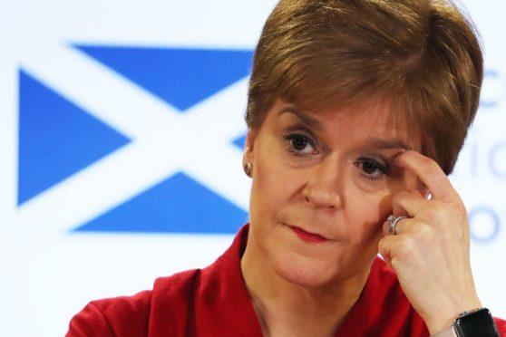 Scotland's First Minister Nicola Sturgeon