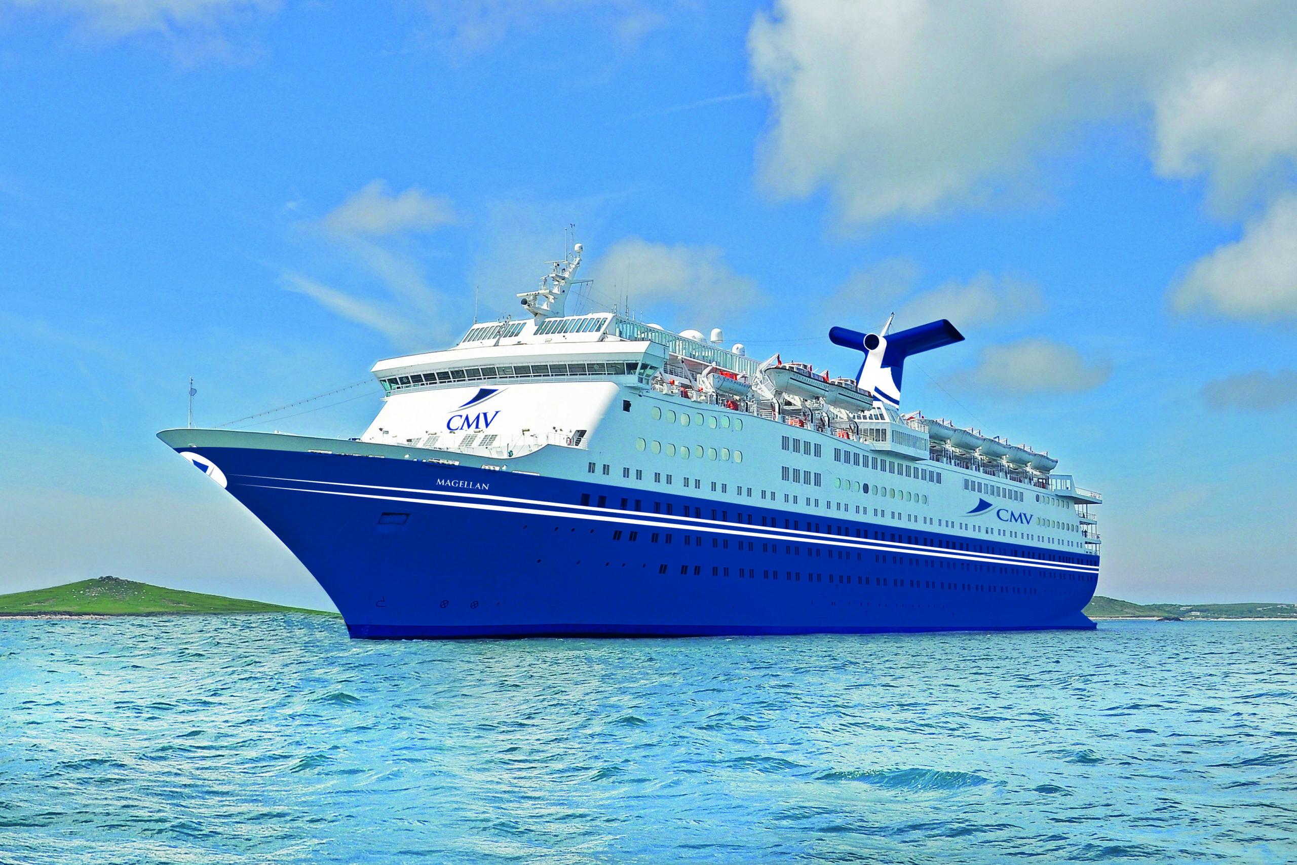 CMV's cruise ship Magellan
