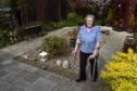 Margaret Stott was inspired to walk 45 laps of her garden by Captain Tom.