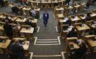 First Minister Nicola Sturgeon in Holyrood