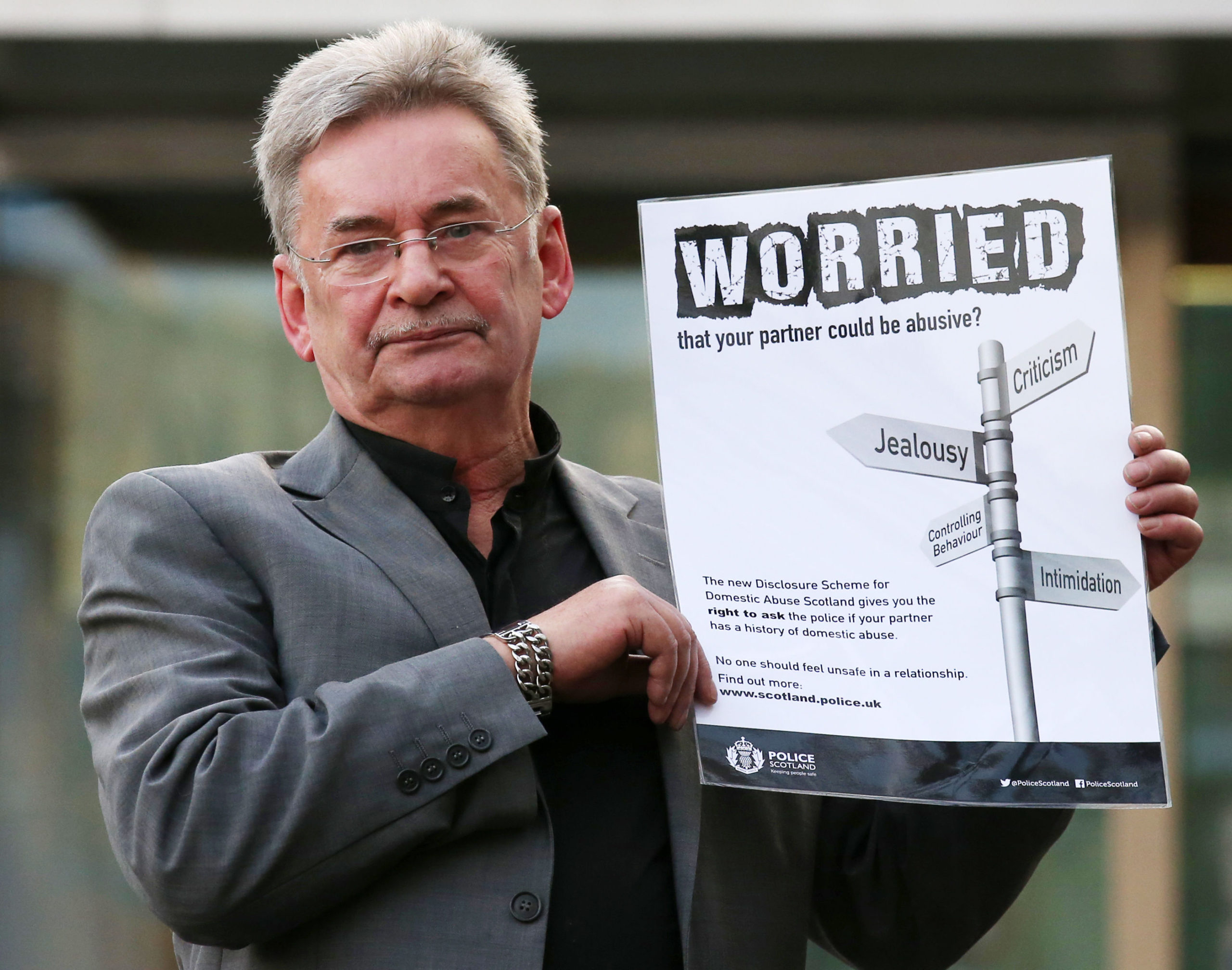 Michael Brown, whose daughter Clare was murdered by her ex boyfriend