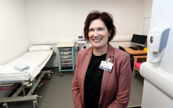 NHS Grampian Chief Executive Amanda Croft