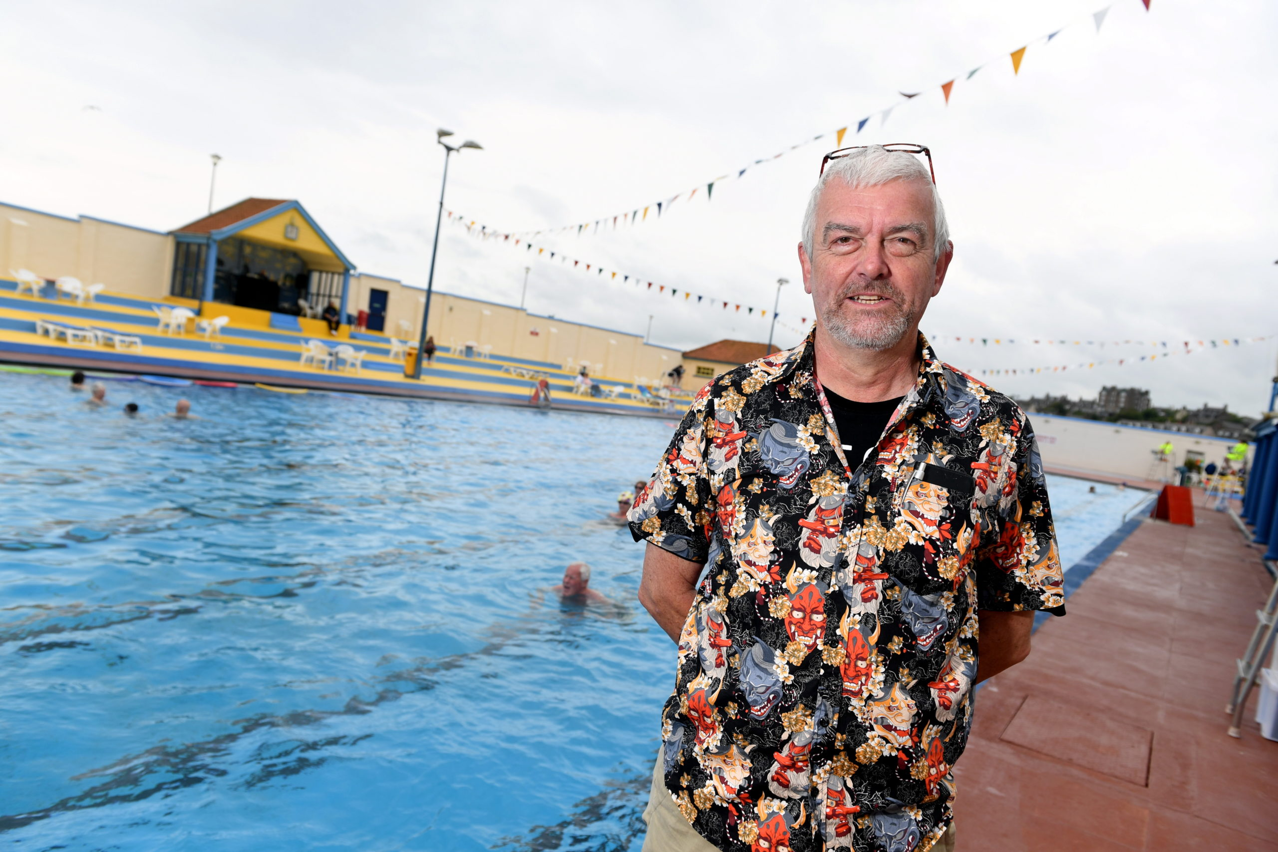 Pete Hill, chairman of The Friends of Stonehaven Open Air Pool