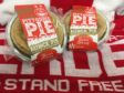 Pittodrie Pies are being donated to charity CFINE to help with food parcels
